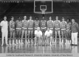 Athletics - UNM Lobos Men's Basketball - team and coaches