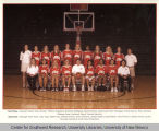 Athletics - UNM Lobos Women's Basketball - 2002 team