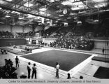 Athletics - UNM Lobos Men's Gymnastics Team - view of arena