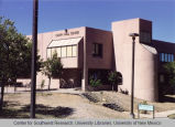 Branch campus - Gallup - exterior - Calvin Hall Center