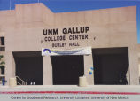Branch campus - Gallup - College Center - Gurley Hall