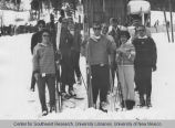 Student Publications - Ski Club - group holding skis