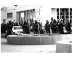 1970 student strike - National Guardmen in gasmasks