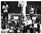 1970 student strike - protesting in Professor Fleck's class
