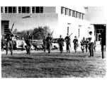 1970 student strike - National Guard troops advancing