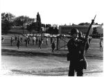 1970 student strike - National Guardsmen on grassy field