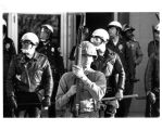 1970 student strike - NM State police holding batons