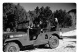 Peace Corps - Jeep training - group of women driving on snow