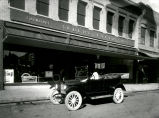 MAXWELLAUTOMOBILE, IN FRONT OF ALBERT FABER FURNITURE, 308- 310 W RAILROADAVE Maxwell Automobile...