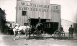 W.L. Trimble and Company, Livery, Feed & Sale Stable, 115 North Second Street, Albuquerque