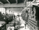 Parts warehouse at Atchison, Topeka and Santa Fe Railway shops, Albuquerque, New Mexico c.1940s