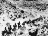 Deep into Mexico in pursuit if Pancho Villa, 1916