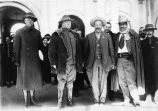 Pancho Villa meets with General Hugh Scott, 1915