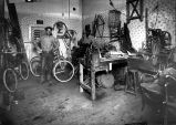 Unidentified bicycle repair shop, Albuquerque