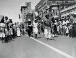 First American Pageant, Albuquerque, parade on Central Avenue