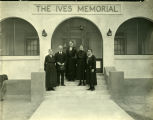 Sanatoriums, five staff members  of The Ives Memorial nurse's home, Methodist Deaconess Sanatorium