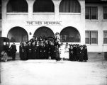 Sanatoriums, staff of The Ives Memorial nurse's home, Methodist Deaconess Sanatorium