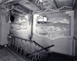 KiMo Theater. mezzanine level murals