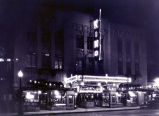 KiMo Theater at night