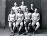 Basketball team, Encino, New Mexico