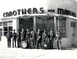Carothers and Mauldin, service station,owners and staff, and 320 East Central Avenue, Albuquerque