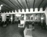 Franciscan Hotel lobby interior, 601 West Central Avenue, Albuquerque