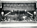 Firestone Service Station, Christmas window display, 701-705 West Central Avenue , Albuquerque
