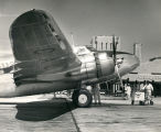 Albuquerque Municipal Airport, employees servicing DC-3
