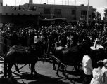 Albuquerque Municipal Airport, arrival of Duke and Duchess Albuquerque from Spain for...