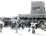 Albuquerque Municipal Airport, Native American Dancers perform