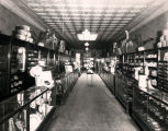 Eubank Brothers, men's clothing, store interior, 118 West Central Avenue, Albuquerque