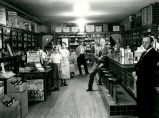 The Modern Pharmacy interior, 1323 West Tijeras, owner C.C. Haussamen, Albuquerque