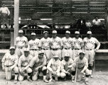 Group photo of the Albuquerque Dukes Baseball Team, Albuquerque