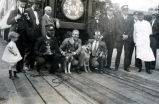 Lee Duncan and Rin Tin Tin at the Alvarado Hotel