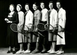 Tennis players group portrait, Albuquerque