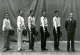 Fencing team and instructor, Albuquerque
