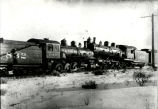 Collision of two Atchison, Topeka and Santa Fe Railway steam locomotives, New Mexico