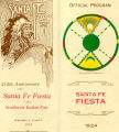 Program Cover, Santa Fe Fiesta