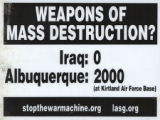 No War Against Iraq