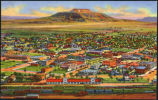 Air view of Tucumcari, New Mexico