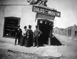 Jake Gold's Old Curio Shop, San Francisco Street and Burro Alley, Santa Fe, New Mexico