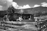 Corral with hen house, Mora, New Mexico