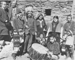 Dr. & Mrs. Albert Einstein at Hopi House, Grand Canyon, Arizona