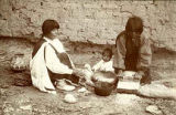 """Indian Women Making Tortillas"", New Mexico"