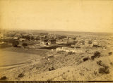 View of Santa Fe from Old Fort Marcy, New Mexico