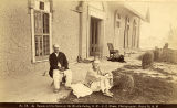 """Doctor Tanner at his home in the Mesilla Valley, New Mexico"""
