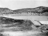 Two-mile dam and reservoir, Santa Fe, New Mexico