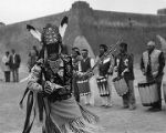 Matachines dance, Santa Clara Pueblo, New Mexico