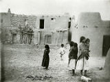 Children at Santa Clara Pueblo, New Mexico