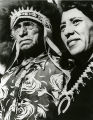 Herman Velarde and daughter, artist Pablita Velarde, Santa Clara Pueblo, New Mexico
